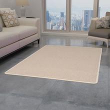 vidaXL Tuftad matta 120x180 cm beige