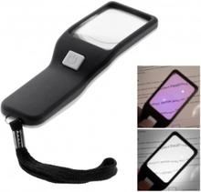 BW-017 Handhållet förstoringsglas Lupp med LED och UV