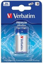 Verbatim batteri, 9V/6LR61, Alkaliskt, 1-pack