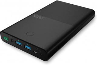 VINSIC Dual USB 30000mAh Powerbank Mobil Plattor Laptop