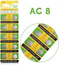 AlkaliskKnappcellbatteri SR55 / V391 / AG8 Storpack