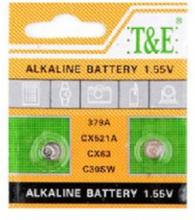 AlkaliskKnappcellbatteri SR63 / V379 / AG 0
