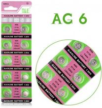 AlkaliskKnappcellbatteri SR69 / V371 / AG6 Storpack