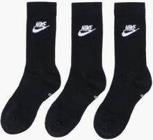 Nike Sportswear U Nk Nsw Evry Essential Crew Strumpor Black