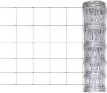vidaXL Puutarha aita galvanoitu teräs 50 m 80 cm