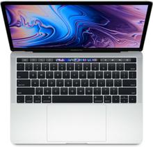 Apple Macbook Pro (2019) mit Touch Bar 13-inch 2.4GHz I5 256GB MV992 - Silber (US-Tastatur)
