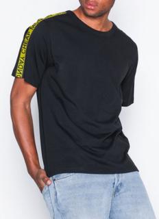 Cheap Monday Boxer logo tee T-shirts & linnen Black