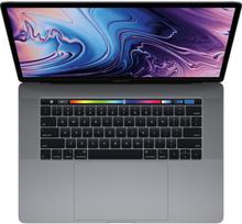 Apple Macbook Pro (2019) mit Touch Bar 15 2.6GHz I7 256GB MV902 - Spacegrau (US-Tastatur)