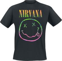 Nirvana - Sorbet Ray -T-skjorte - svart
