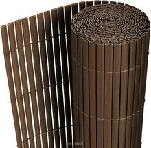 [neu.hauz]® Aita - PVC -muovista tehty, auringon- ja tuulensuoja - ruskea - 3m x 0,9m