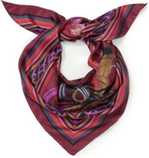 Tørklæde 100% silke Fra Basler multicolor