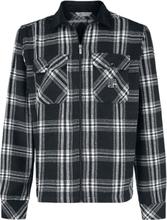 Unfair Athletics - Lumberjack Zip Skjorte -Overgangsjakke - svart