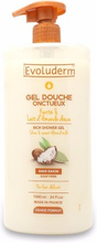 Evoluderm Shea & Sweet Almond Milk Showergel 1000 ml