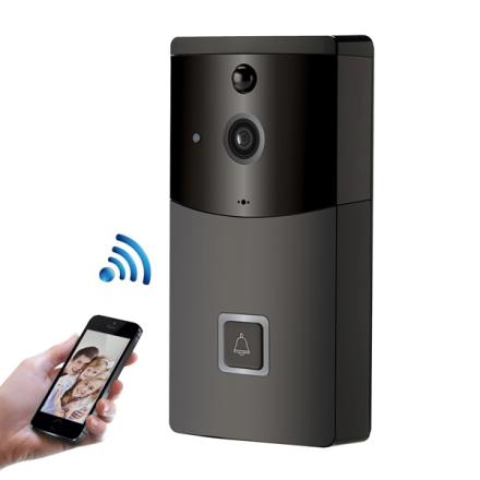 WiFi Ringeklokke med kamera 2.4GHz 720P - Mobilapp