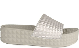 Ash SCREAM översållad Chunky sulor sandaler Antic Silver Grå 41