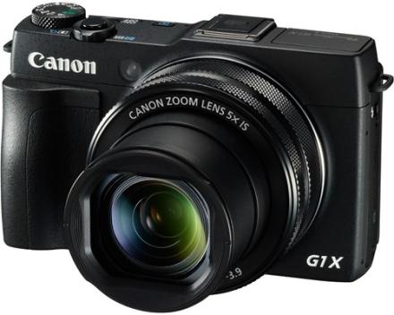 Canon PowerShot G1 X Mark II Sort (9167B011)
