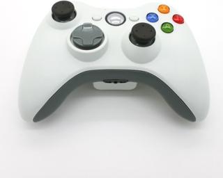 Trådlös handkontroll till Xbox 360 (Vit)