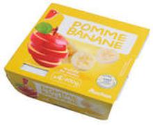 Auchan - mus jabłkowo - bananowy 4x100g