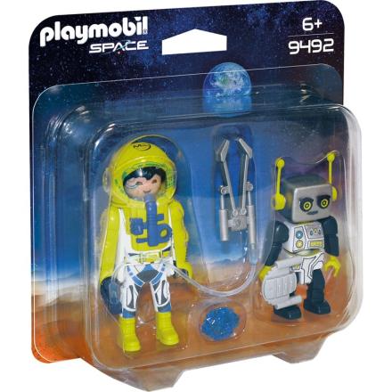 ''9492 Duopack med Astronaut og Robot'' - Lekmer