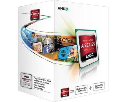 AMD A-Series A4-5300 3.4GHz Socket FM2 (AD5300OKHJBOX)