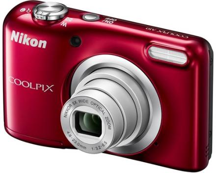 Nikon Coolpix A10 Rød (VNA982E1)