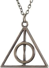 Necklace/Kaulakoru - Deathly Hallows - Harry Potter - Bronze