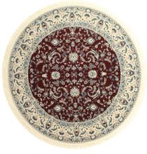 Nain Florentine - Mörk Röd matta Ø 250 Orientalisk, Rund Matta