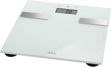 AEG analysevægt 7 i 1 - Hvidt glas