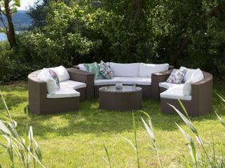 Havemøbler i sæt Lysebrun sæt Severo