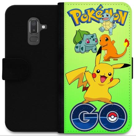 Samsung Galaxy J8 (2018) Plånboksfodral Pokemon Go - CDON.COM