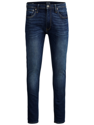 JACK & JONES Liam Original Am 014 Skinny Fit Jeans Men Blue