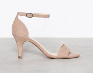 Bianco Low Basic Sandal Nougat