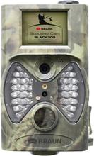 Braun Germany Scouting Cam Viltkamera 12 Megapixel Black LEDs, Fjärrkontroll Kamouflage