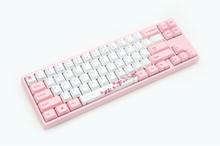 x Varmilo MIYA-Pro Sakura TKL Cherry MX Brown - Gaming Tastatur - Uden Numpad - Nordisk - Pink