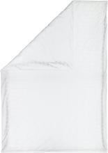 Räsymatto pussilakana puuvillasatiini 150x210 cm Valkoinen