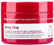 Army Clay Wax
