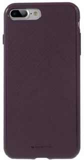 MERCURY GOOSPERY Style Lux Textured Soft TPU Case Shell Cover for iPhone 8 Plus / 7 Plus