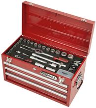 KS Tools 100 delar Superlock universellt verktygssats 1/4 tum 1/2 tum