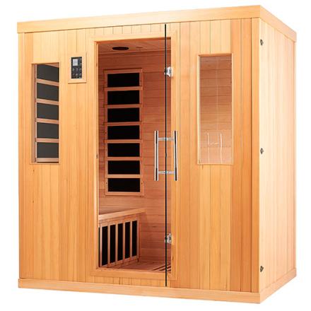 MaXXwell LK-6094 Hemlock 2200 Watt Infrarød Sauna