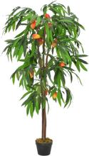 vidaXL Konstväxt Mangoträd med kruka 150 cm grön