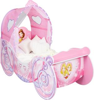 Disney Princess karet juniorseng u. madr - Disney Princess Børnemøbler 660065