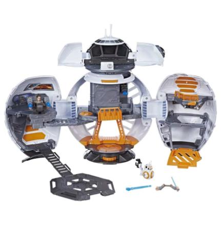 Star Wars BB-8 Adventure Base 2 i 1 - Disney Galactic Heroes playset C0728 - Eurotoys