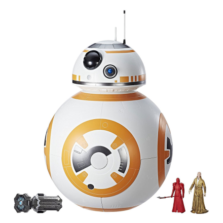 Star Wars Force Link Mega BB-8 legesæt - Disney Star Wars borg og playset C1253 - Eurotoys