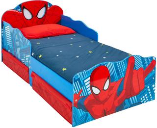 Spider-Man juniorseng m. madras - Spiderman børnemøbler 663554