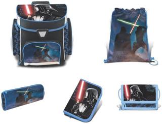 Star Wars skoleveske satt 5 de - Star Wars Skolebag 758707