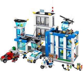 Polisstation - Lego 60047 City