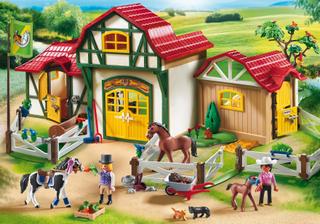 Equestrian Centre - Playmobil Hestestald 6926