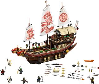 Skjebneskipet Bounty - LEGO 70618 Ninjago Movie