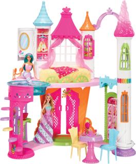 Barbie Dreamtopia Sweetvile du - Barbie dukkehus DYX32