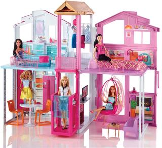 Barbie Malibu Townhouse - Barbie Dollhouse DLY32